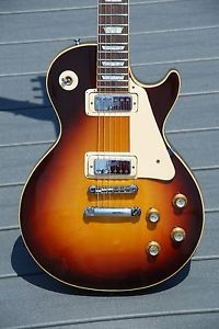 1971 Vintage Gibson Les Paul Deluxe Sunburst Feather Weight w/ OHSC