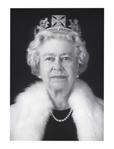 Queen Elizabeth II (Equanimity), 2012 Chris Levine (b. 1972) #TheQueen