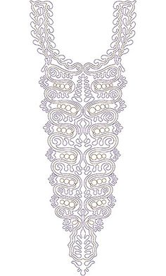 Hammamet Fashion Clothing Embroidery Neck Design