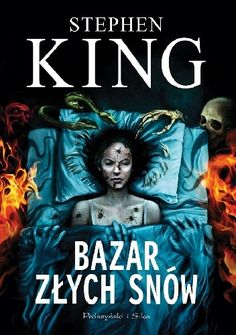 Back to more Stephen King art. Here's the cover for the Polish edition of The Bazaar of Bad Dreams which will be out in November through Prószyński i S-ka. I Love Books, My Books, King Art, Bangor, Bad Dreams, New York Times, Movies And Tv Shows, Movie Tv, Horror