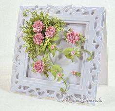 martha stewart pine branch punch | Martha Stewart PATP Flower Border Punch(little inner flowers) and Pine ...