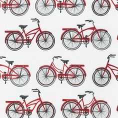 Everyday favorites-Red Bicycles