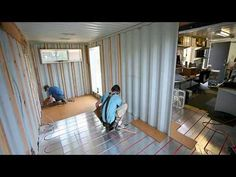Foundation for a shipping container0.mov - YouTube
