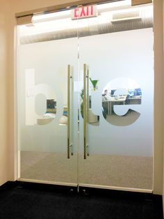 ... Glass DoorsNew York Signs | ADA Signs | Plaques | Corporate Logos