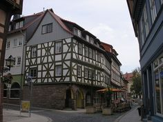 The Altstadt (old town) of Nordhausen, Thuringia, Germany. I'm going there someday!