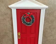 Image result for elf door christmas