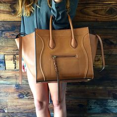 Celine Phantom Tote now available at Mosh Posh! Call us at 813-258-8800 if you would like to purchase before it goes online! #Celine #celinehandbags #fashion #trendy #luxury #purselover #purseblog #bagsofTPF #moshposhfinds #mymoshposh #designerhandbags #designerconsignment