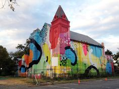 Religion on Acid: Former Church Gets a Bold Makeover | Art on GOOD