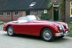 Jaguar XK 150 3.4 roadster, 1958