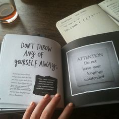 Don't throw any of yourself away. // Austin Kleon // Steal Like An Artist http://steallikeanartist.com