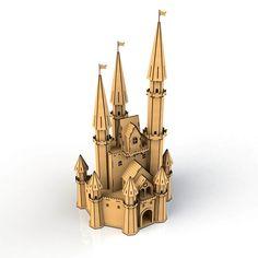 Castelo Princesas Quebra Cabeça 3D Castelo Princesas Quebra Cabeça 3D Puzzle3D…