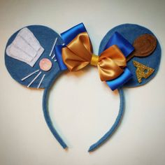 One of a kind Ratatouille inspired Minnie Mouse Ears. Headband is one size fits all.