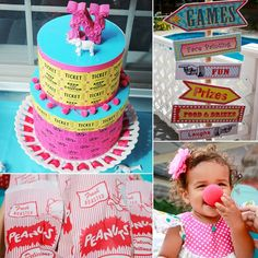 Mom, blogger, and DIY queen Tiffany DeLangie of The TasteFull Life went with a circus theme for her younges...