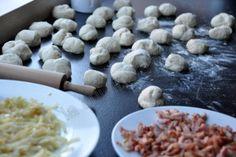 Pull Apart Bread fourré aux lardons et oignons - Dans la cuisine d'Audinette