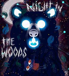 Night in the woods fanart