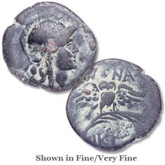 500-30 B.C. Ancient Greek Coin