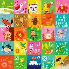 Oopsy Daisy Alphabet Wall Art