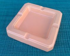 Vintage Pink Japan Ceramic Ashtray 1950s by SusansYardSale on Etsy, $15.00