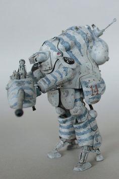 Maschinen Krieger Ma.K  Robot Battle V WhiteKnight by Scumandvillainy.deviantart.com on @DeviantArt