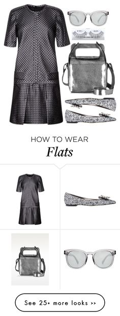 """""""Gray"""" by cherieaustin on Polyvore featuring J. Mendel, Dolce&Gabbana and MM6 Maison Margiela"""