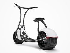 Zero learning curve is required to ride a Rolley Scooterson. The scooter is intuitive even for people who haven't learnt to ride a bicycle and the rider only has to remember the position of the brake levers. There is no gear . Scooter Bike, Kick Scooter, Motorcycle Design, Bicycle Design, Electric Bicycle, Electric Scooter, Go Karts, Velo Cargo, Concept Motorcycles