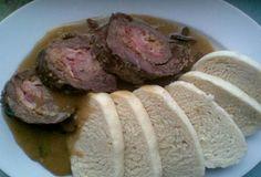 Roládky v houbové omáčce Sausage, Pork, Meat, Kale Stir Fry, Sausages, Pork Chops, Chinese Sausage