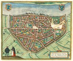 Nijmegen door Braun and Hogenberg - 1599.