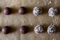 No-Bake Dark Chocolate Coconut Bites