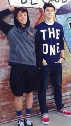why, nash?!?! why are you sooo tall?!?! I love youu guys(:
