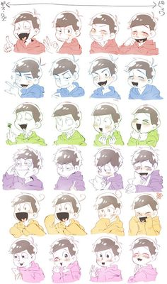 Matsuno faces! When will I ever lose interest in these cute men?! Not in a million years!