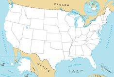 World Map Usa World Map ESRL PSD Clickable Map Of US States Map - Us map states only