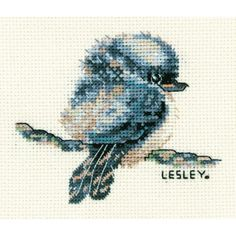 Craft Boutique - Kookaburra Cross Stitch Kit by Lesley Suzanne Davies from DMC