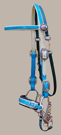 Endurance Tack made of beta and biothane for Endurance & Trail horses