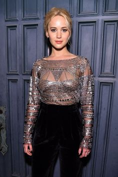 Pin for Later: Jennifer Lawrence is Already Wearing the Pants You'll Want This Fall