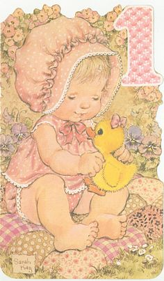 Sarah Kay, Flower Pattern Design, Pattern Art, Flower Drawing Tutorials, Mason Jar Flowers, Vintage Birthday Cards, Sweet Pic, Holly Hobbie, Watercolor Pattern
