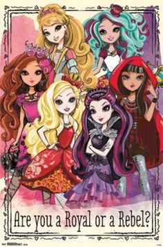 (22x34) Ever After High - Group Television Poster Trends ...