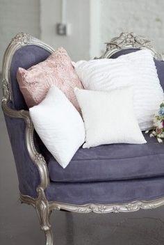 Lavander, pink & white