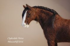 clydesdale head
