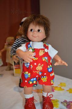 Вихтелята. Возвращение. Встреча с Роземарией и Вилли Мюллер. / Коллекционные куклы Rosemarie Anna Muller / Бэйбики. Куклы фото. Одежда для кукол
