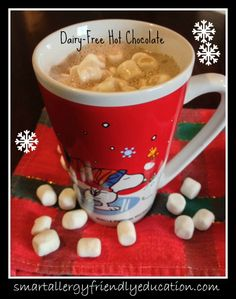 Smart Allergy Friendly Education: Delicious Dairy-Free Hot Chocolate!
