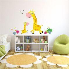 Vinilo adhesivo Giraffe Mum & Baby