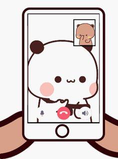 Cute Anime Cat, Cute Bunny Cartoon, Cute Cartoon Pictures, Cute Love Cartoons, Cute Anime Pics, Cute Images, Cute Bear Drawings, Cute Couple Drawings, Cute Animal Drawings Kawaii