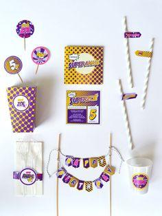 Pack Super Héros - Violet