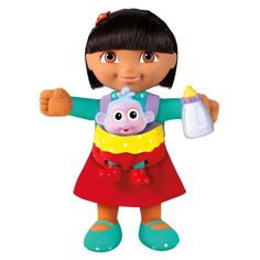 FisherPrice Baby Boots Sitter Dora the Explorer *** Check this awesome product by going to the link at the image.Note:It is affiliate link to Amazon. #love