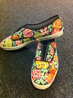 hand painted keds