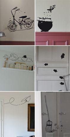 Wall decal ideas