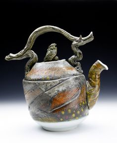 Brook Trout Teapot Nature as Objects One of a Kind by markchuck, $300.00