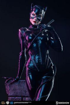 Batman Returns Catwoman Premium Format Figure By Sideshow Collectibles