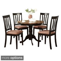 Shop for 5-Piece Kitchen Table Set and 4 Kitchen Dining Chairs. Get free delivery at Overstock.com - Your Online Furniture Shop! Get 5% in rewards with Club O!