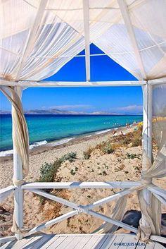 Beach in Marmari, Kos, Greece